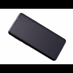 Bloc Ecran Amoled et vitre prémontés sur châssis pour Samsung Galaxy S9 Titanium photo 3