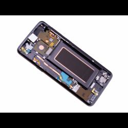 Bloc Ecran Amoled et vitre prémontés sur châssis pour Samsung Galaxy S9 Titanium photo 4