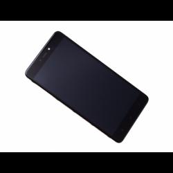 Bloc écran sur châssis pour Xiaomi Redmi Note 4 Noir photo 2