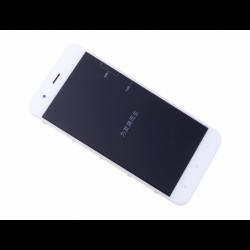 Bloc écran sur châssis pour Xiaomi Mi A1 Blanc photo 2