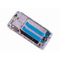 Bloc écran sur châssis pour Xiaomi Mi A1 Blanc photo 1