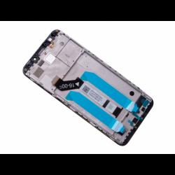 Bloc écran sur châssis pour Xiaomi Redmi 5 Plus Noir photo 1