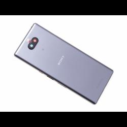Coque arrière pour Sony Xperia 10 Plus Argent