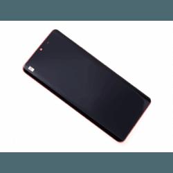 Bloc Ecran Orange COMPLET pré-monté sur châssis + batterie pour Huawei P30 Pro photo 0