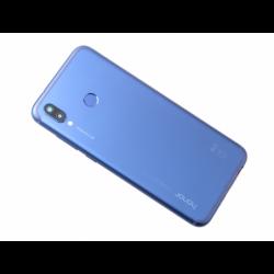 Coque arrière en métal pour Huawei Honor Play Bleu photo 0