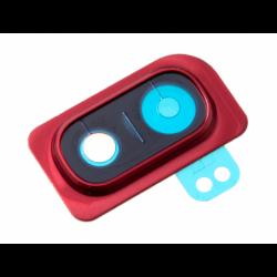 Cache de caméra arrière pour Samsung Galaxy A10 Rouge photo 0