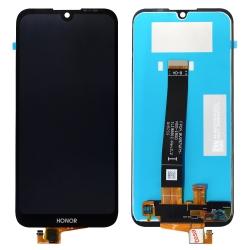 Ecran Noir vitre + dalle LCD pré-assemblé pour Honor 8S