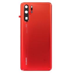 Vitre arrière Orange pour Huawei P30 Pro