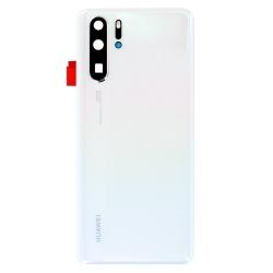 Vitre arrière Blanc Perle pour Huawei P30 Pro