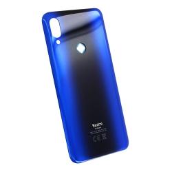 Vitre arrière pour Xiaomi Redmi 7 Bleu Comète photo 2