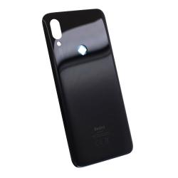 Vitre arrière pour Xiaomi Redmi 7 Noir Éclipse