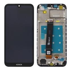Bloc écran LCD et vitre pré-montés sur châssis pour Honor 8S