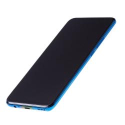 Bloc Ecran Bleu Saphir COMPLET pré-monté sur châssis + batterie pour Huawei P Smart Z photo 1