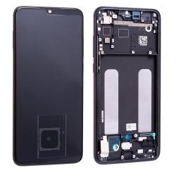 Bloc écran Super Amoled et vitre pré-montés sur châssis pour Xiaomi Mi 9 Lite Noir