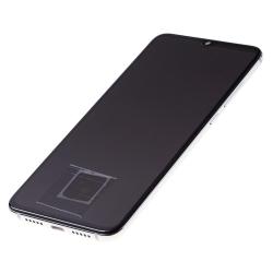 Bloc écran Super Amoled et vitre pré-montés sur châssis pour Xiaomi Mi 9 Lite Blanc photo 1