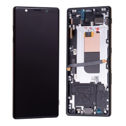 Bloc écran OLED pré-monté sur châssis pour Sony Xperia 5