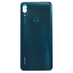 Vitre arrière et lecteur d'empreintes pour Huawei P smart Z Vert