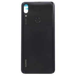 Vitre arrière et lecteur d'empreintes pour Huawei P smart Z Noir