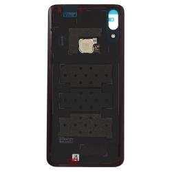 Vitre arrière et lecteur d'empreintes pour Huawei P smart Z Noir photo 1