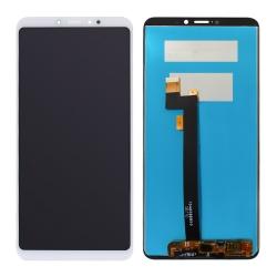 Ecran Blanc avec vitre avec LCD pré-assemblé pour Xiaomi Mi Max 3