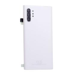 Vitre arrière pour Samsung Galaxy Note 10+ Blanc