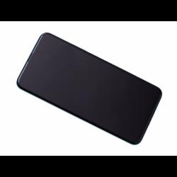 Bloc Ecran Vert COMPLET pré-monté sur châssis + batterie pour Huawei P Smart Z photo 0