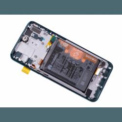 Bloc Ecran Vert COMPLET pré-monté sur châssis + batterie pour Huawei P Smart Z photo 1