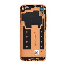 Coque arrière pour Huawei Y5 (2019) Cuir Marron photo 1