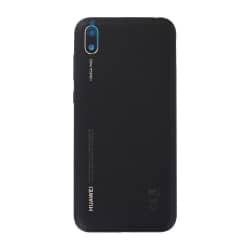 Coque arrière pour Huawei Y5 (2019) Cuir Noir