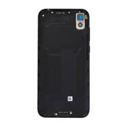 Coque arrière pour Huawei Y5 (2019) Cuir Noir photo 1
