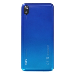 Coque arrière pour Xiaomi Redmi 7A Bleu Gemme
