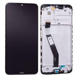 Bloc écran IPS LCD et vitre pré-montés sur châssis pour Xiaomi Redmi 8 Noir Minéral photo 2