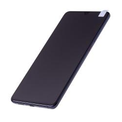 Bloc écran complet pré-monté sur châssis + batterie pour Huawei Mate 20 X Bleu photo 1