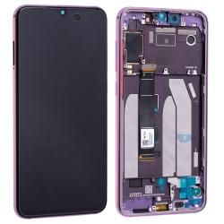 Bloc écran Super AMOLED et vitre pré-montés sur châssis pour Xiaomi Mi 9 SE Violet photo 2