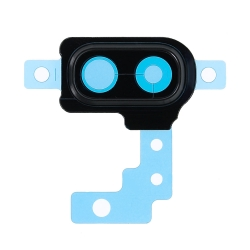 Contour cache-caméra Noir pour  Samsung Galaxy A20e photo1