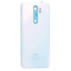 Vitre arrière pour Xiaomi Redmi Note 8 Pro Perle Blanche