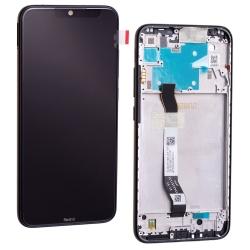Bloc écran IPS LCD et vitre pré-montés sur châssis pour Xiaomi Redmi Note 8 Noir photo 2