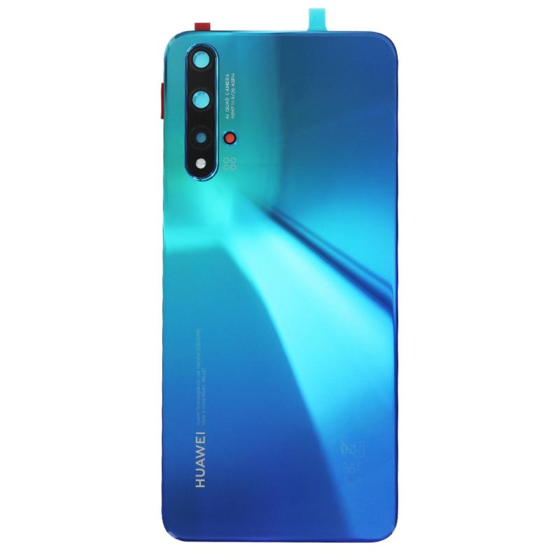 Vitre arrière pour Huawei Nova 5T Bleu