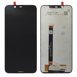 Ecran vitre + dalle IPS LCD pré-assemblé pour Nokia 8.1