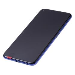 Bloc écran complet pré-monté sur châssis + batterie pour Huawei Nova 5T et Honor 20 bleu photo 1