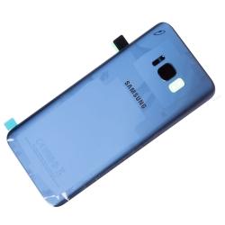 Vitre arrière originale de Samsung Galaxy S8 Plus Bleu photo 1