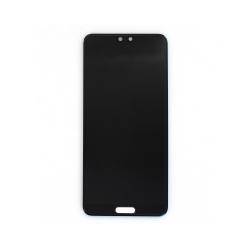Ecran Noir avec vitre et LCD prémonté pour Huawei P20