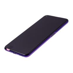 Bloc écran complet pré-monté sur châssis + batterie pour Huawei Nova 5T et Honor 20 violet photo 1