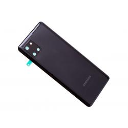 Vitre arrière pour Samsung Galaxy Note 10 Lite Noir Cosmos photo 2