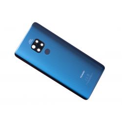 Vitre arrière originale pour Huawei Mate 20 Bleu photo 2