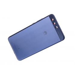 Vitre arrière originale pour Huawei P10 Plus Dual Bleu photo 2