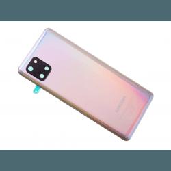 Vitre arrière pour Samsung Galaxy Note 10 Lite Argent Stellaire