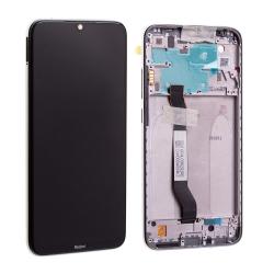 Bloc écran IPS LCD et vitre pré-montés sur châssis pour Xiaomi Redmi Note 8 Blanc photo 2