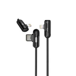 Câble USB-C vers Lightning + prise audio Lightning