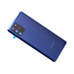 Vitre arrière pour Samsung Galaxy S10 Lite Bleu